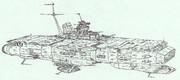 宇宙航空母艦ソンブレロ「自作艦」
