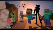 【MinecraftCM】マインクラフトで作る物語【旅人】特典デスクトップ壁紙
