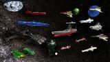宇宙戦艦ヤマトモデルのコレクション>(^。^)b
