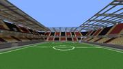 Minecraftでサッカースタジアムを作りたい3