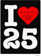 I♥25Tシャツ