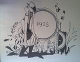 切り絵 1925