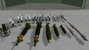 【MMD】いままでに作った航空兵器類