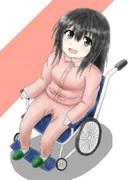 車椅子の妹