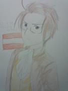 ヘタリアのオーストリアさん描いてみた