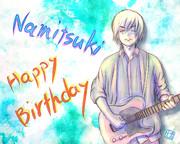 ☆ Happy birthday to Namitsuki ☆