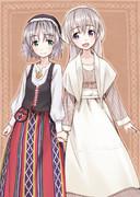 エイラーニャとフィンランド衣装(2013.04.09)