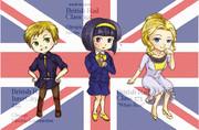イギリス3人娘