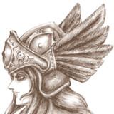 """""""Profile of Walkure"""" 瞬きするだけのGifアニメ"""