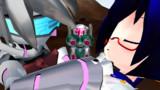 公然接吻ロボットアニメ