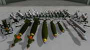 【MMD】航空兵器類