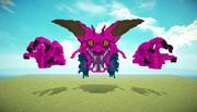【MineCraft】立体ドット絵。デスタムーア