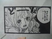 【切り絵】 onepiece しらほし姫