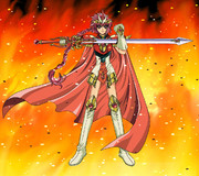 炎の魔法騎士