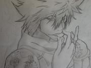 鉛筆模写で白蘭を描いてみた