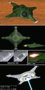 【MMDモデル配布】ポルメリア級ガミラス空母【宇宙戦艦ヤマト2199】