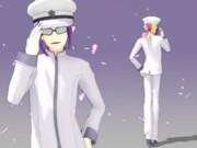 紫枠の何の変哲もない転校生