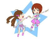 雪歩と星梨花ちゃん