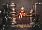 リヴィー、誕生日おめでとう!