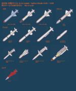 空対地・対艦ミサイル 詰め合わせ (モデル配布)