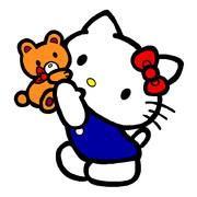 キティ ~大好きクマさん 01~