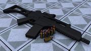G36C と 5.56x45mmNATO弾