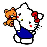 キティ ~大好きクマさん 02~