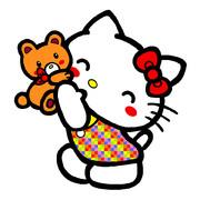 キティ ~大好きクマさん 03~