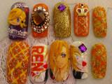 【痛ネイル】爪にうたの☆プリンスさまっ♪の神宮寺レンを描いてみた。
