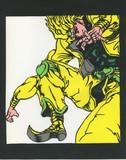 「ジョジョの奇妙な冒険」 DIO 「切り絵」  「色つき」