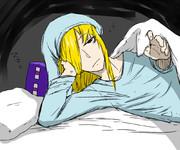 ('ω')添い寝