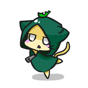 忍者ネコ(女の子です)