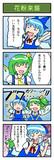 里野さんの東方4コマ漫画 4