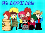 We love hide(*´∇`*)!