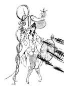 魔法少女の攻撃シーン