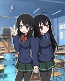 黒雪姫と三澤紗千香