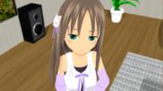 ジト目をする12歳少女。