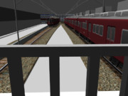 RailSim2で阪急梅田駅