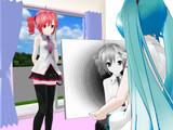 【MMD】画家とモデル