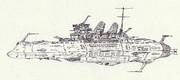 宇宙特務実験戦艦ミカサ「自作艦」