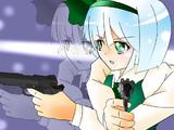 もしも妖夢が拳銃を武器として使っていたら