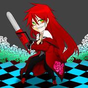 赤い死神自分なりの画風で描かせていただいたんですごめんなさい。
