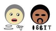 【図形】●だけでニケ&BITさんを再現しようとしてみた【修正版】