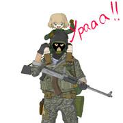 カチューシャと援護兵