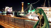 【ミクさんと】 夜景の魔法 【神戸】