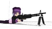【MMD-OMF3】M60E 汎用機関銃 モデル配布