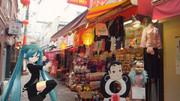 【ミクさんと】 南京町裏通り 【神戸】