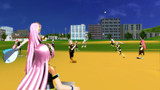 ルカさん達で野球