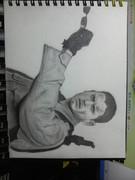 バイオハザードのウェントワース・ミラー氏を描いてみた。