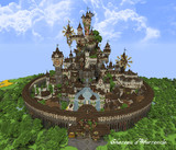 【Minecraft】オルタンシアのお城